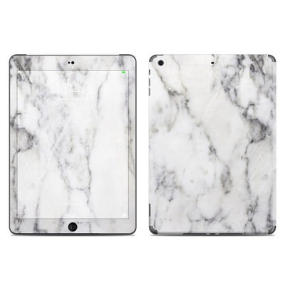 Apple iPad Air Skin - White Marble