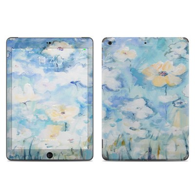 Apple iPad Air Skin - White & Blue