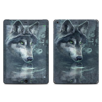 Apple iPad Air Skin - Wolf Reflection