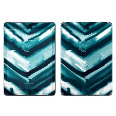 Apple iPad Air Skin - Watercolor Chevron