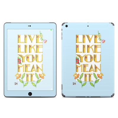 Apple iPad Air Skin - Mean It