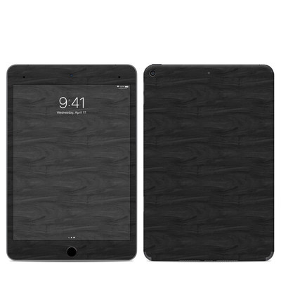 Apple iPad Mini 2019 Skin - Black Woodgrain
