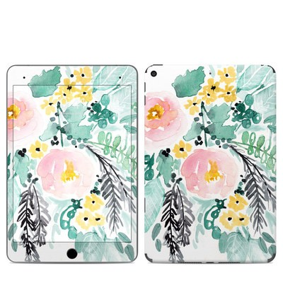 Apple iPad Mini 2019 Skin - Blushed Flowers