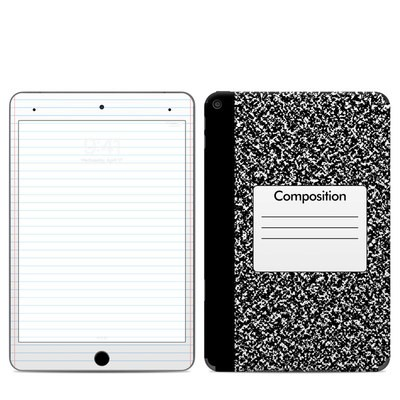 Apple iPad Mini 2019 Skin - Composition Notebook