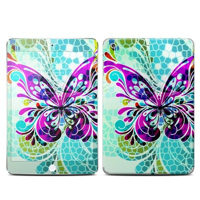 Apple iPad Mini 3 Skin - Butterfly Glass