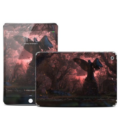 Apple iPad Mini 3 Skin - Black Angel