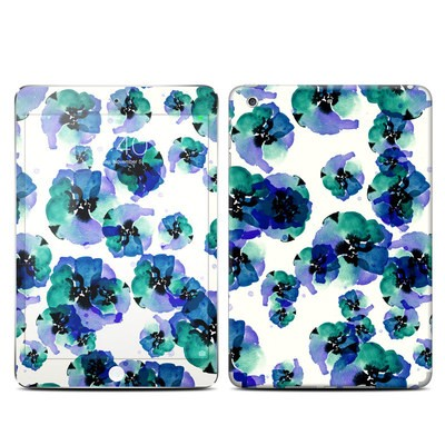 Apple iPad Mini 3 Skin - Blue Eye Flowers