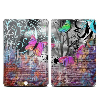 Apple iPad Mini 3 Skin - Butterfly Wall