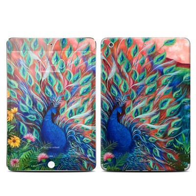 Apple iPad Mini 3 Skin - Coral Peacock