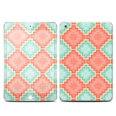 Apple iPad Mini 3 Skin - Coral Diamond