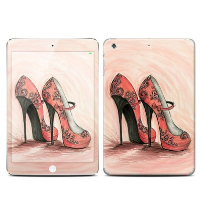 Apple iPad Mini 3 Skin - Coral Shoes