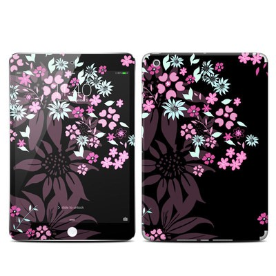 Apple iPad Mini 3 Skin - Dark Flowers