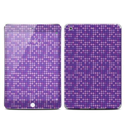Apple iPad Mini 3 Skin - Dots Purple