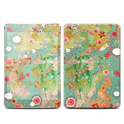 Apple iPad Mini 3 Skin - Feathers Flowers Showers