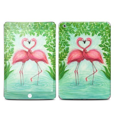 Apple iPad Mini 3 Skin - Flamingo Love