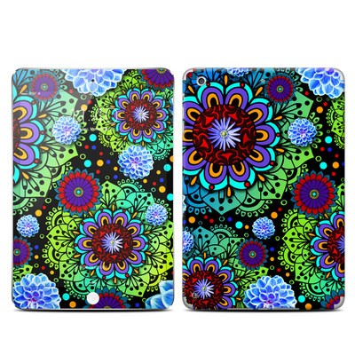 Apple iPad Mini 3 Skin - Funky Floratopia
