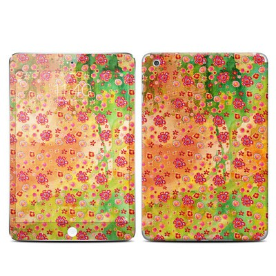 Apple iPad Mini 3 Skin - Garden Flowers