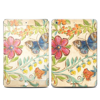 Apple iPad Mini 3 Skin - Garden Scroll
