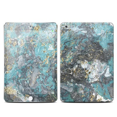 Apple iPad Mini 3 Skin - Gilded Glacier Marble