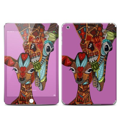 Apple iPad Mini 3 Skin - Giraffe Love