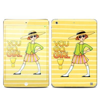 Apple iPad Mini 3 Skin - You Go Girl