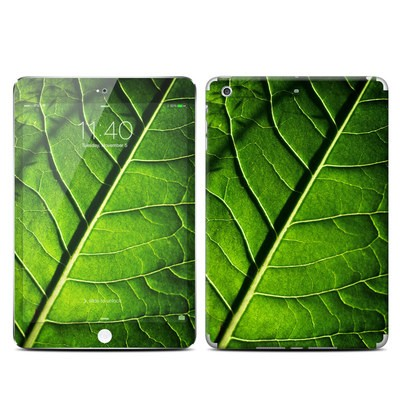 Apple iPad Mini 3 Skin - Green Leaf