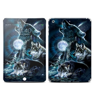 Apple iPad Mini 3 Skin - Howling