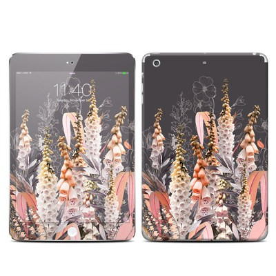 Apple iPad Mini 3 Skin - Lupines Chocolate