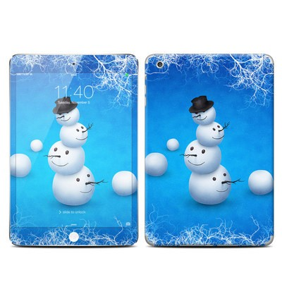 Apple iPad Mini 3 Skin - Merry Snowman