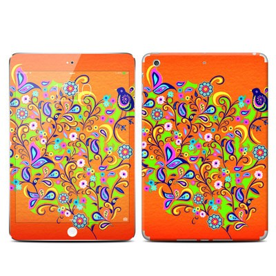 Apple iPad Mini 3 Skin - Orange Squirt