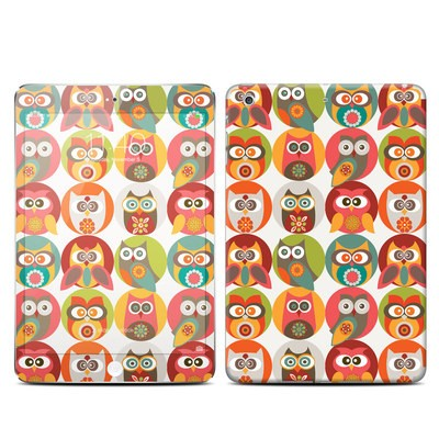 Apple iPad Mini 3 Skin - Owls Family