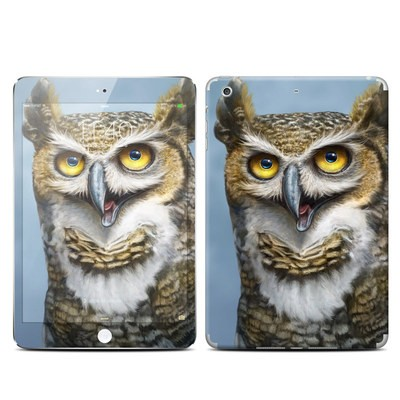 Apple iPad Mini 3 Skin - Owl Totem