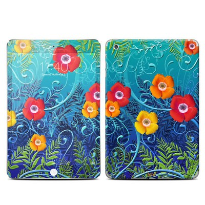 Apple iPad Mini 3 Skin - Poppies