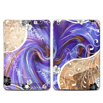 Apple iPad Mini 3 Skin - Purple Waves