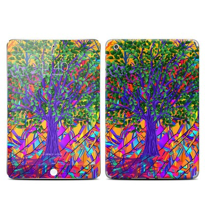 Apple iPad Mini 3 Skin - Stained Glass Tree