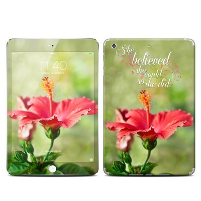 Apple iPad Mini 3 Skin - She Believed