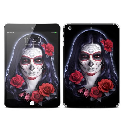 Apple iPad Mini 3 Skin - Sugar Skull Rose