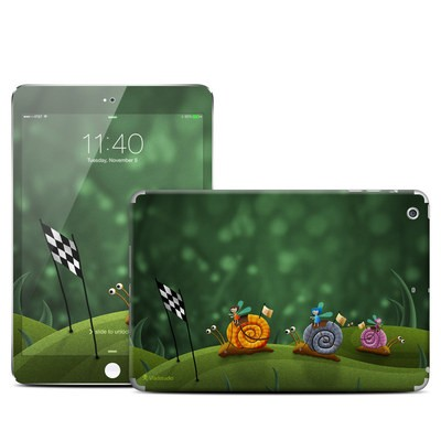 Apple iPad Mini 3 Skin - Snail Race
