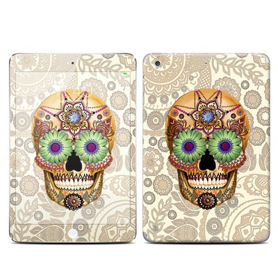 Apple iPad Mini 3 Skin - Sugar Skull Bone
