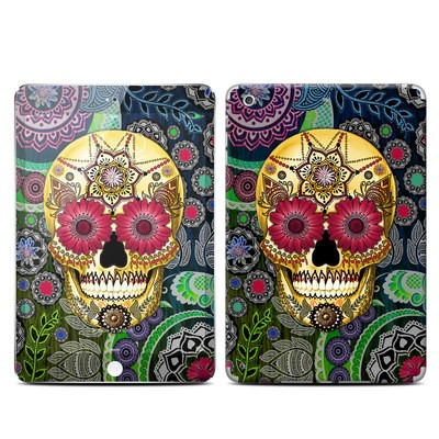 Apple iPad Mini 3 Skin - Sugar Skull Paisley