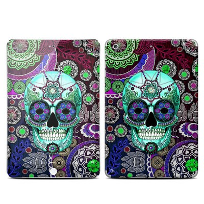 Apple iPad Mini 3 Skin - Sugar Skull Sombrero