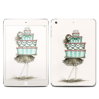 Apple iPad Mini 3 Skin - She Takes The Cake