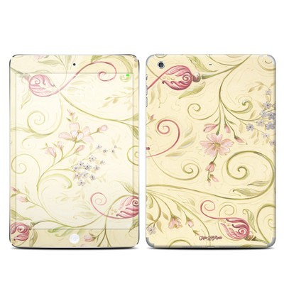 Apple iPad Mini 3 Skin - Tulip Scroll
