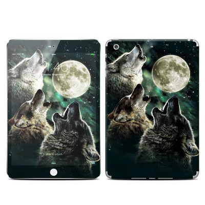 Apple iPad Mini 3 Skin - Three Wolf Moon