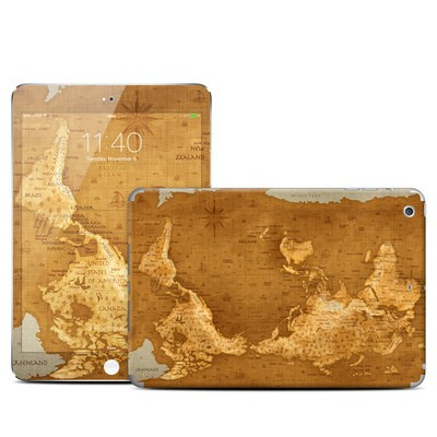 Apple iPad Mini 3 Skin - Upside Down Map