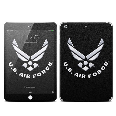 Apple iPad Mini 3 Skin - USAF Black
