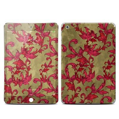 Apple iPad Mini 3 Skin - Vintage Scarlet