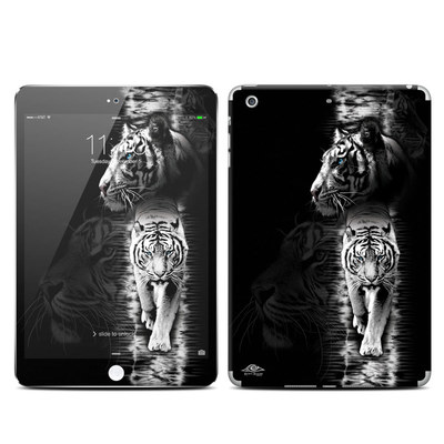 Apple iPad Mini 3 Skin - White Tiger