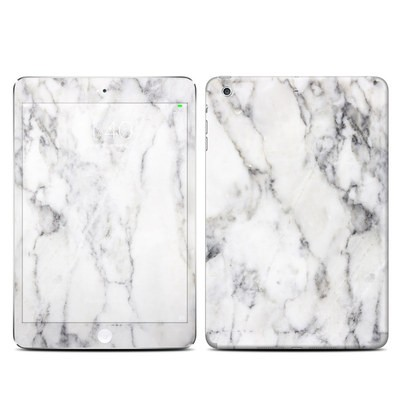 Apple iPad Mini 3 Skin - White Marble