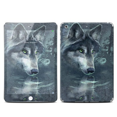 Apple iPad Mini 3 Skin - Wolf Reflection